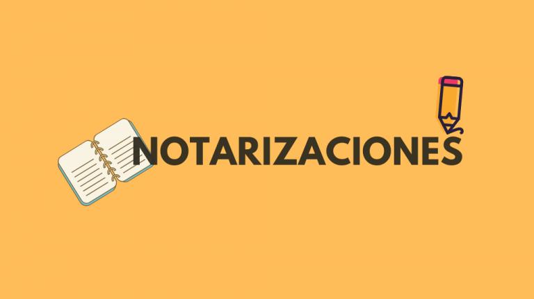 Notarizaciones