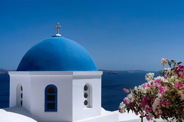 viaje a grecia santorini